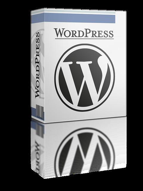 wordpress structuur