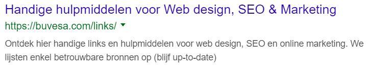 titel volledig getoond in google serp