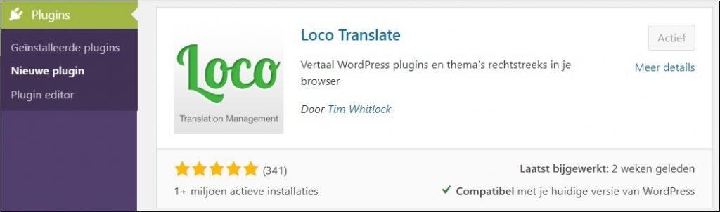 loco translate plugin