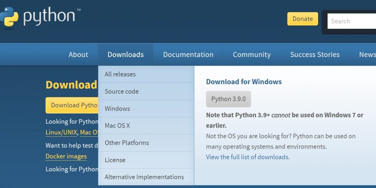 Hoe kan je Python installeren? (eenvoudig stappenplan)