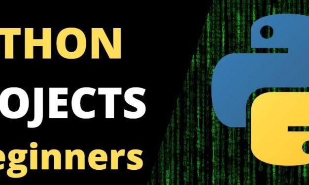 10 Python Projects voor beginners | Leer programmeren