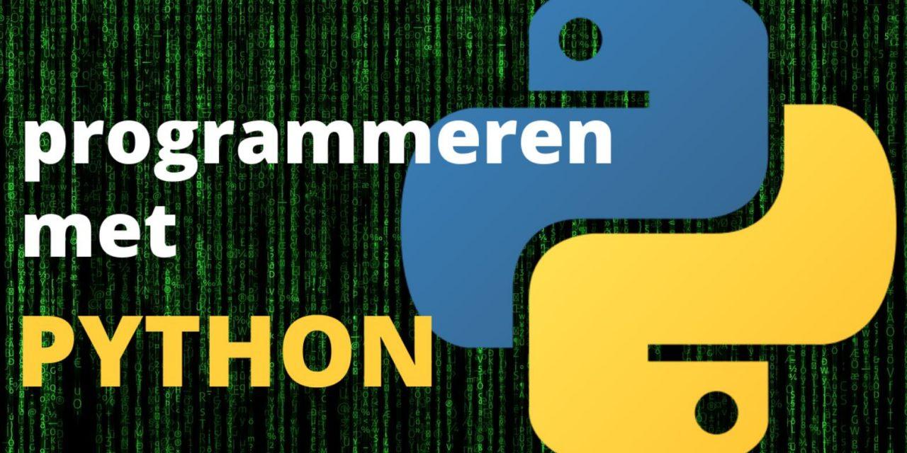 Wat kun je met Python maken en programmeren? (voorbeelden)