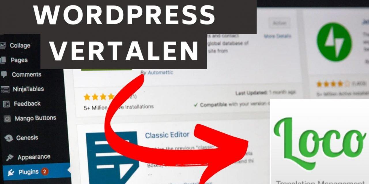 WordPress website Vertalen naar het Nederlands (volledig!)