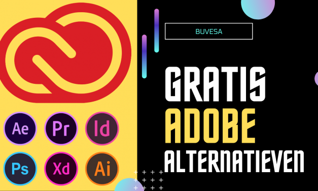 Gratis Adobe alternatieven (Photoshop,illustrator,Premiere)